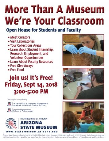 Arizona State Museum Open House